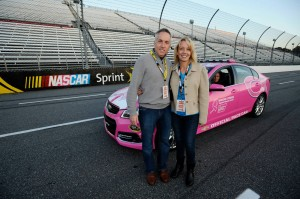 My Wife Colette & I Rode in the Pace Car Before the Race